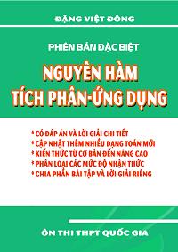 Nguyên Hàm, Tích Phân Ứng Dụng - Đặng Việt Đông