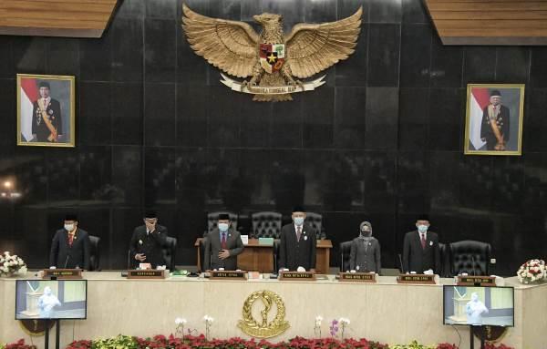 DPRD Jabar Gelar Paripurna Mendengarkan Pidato Kenegaraan Presiden Jokowi
