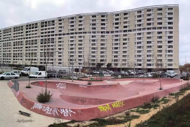 skate park marseille lauriers 13e