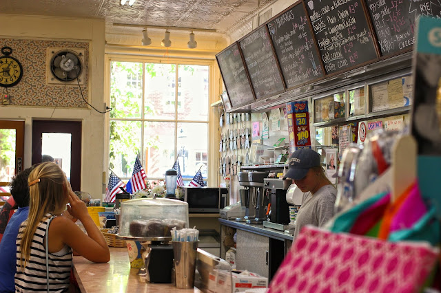 Soda Fountain Shop | Nantucket Pharmacy | Chichi Mary Blog