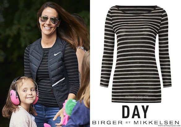 Princess Marie wore Day Birger Et Mikkelsen Striped Layering Top