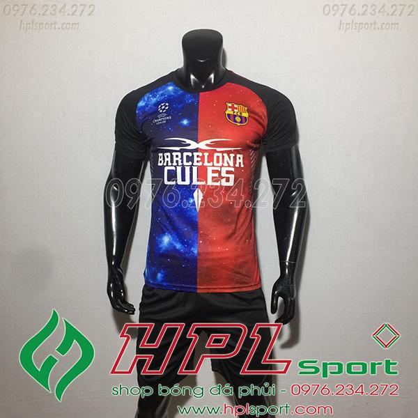 Áo CLB Barcelona training màu đỏ1 2020