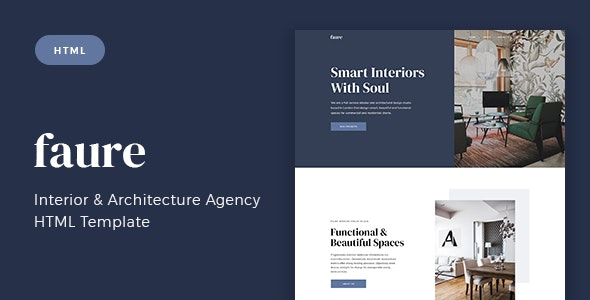 Interior & Architecture Agency Template