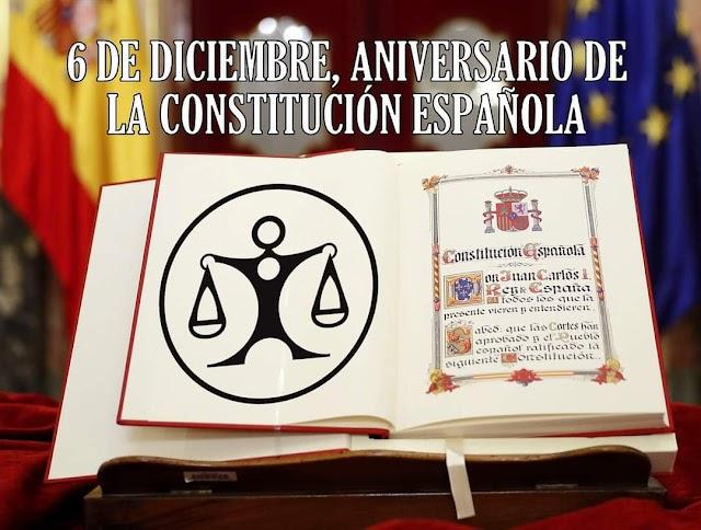 Aniversario de la Constitución Española