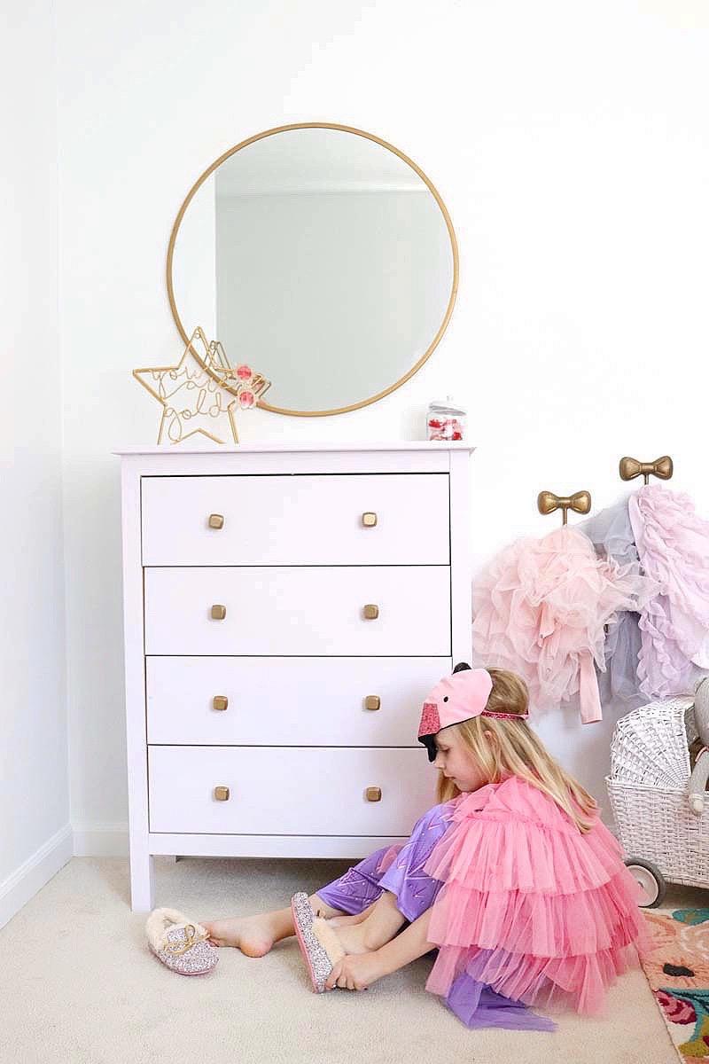 girls room diy dresser
