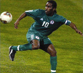 10 Most Skillful Nigerian Footballers Of All Time
