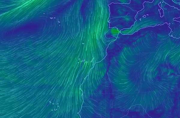 Previsión de lluvia y viento en Canarias para el jueves 19 y viernes 20 de abril