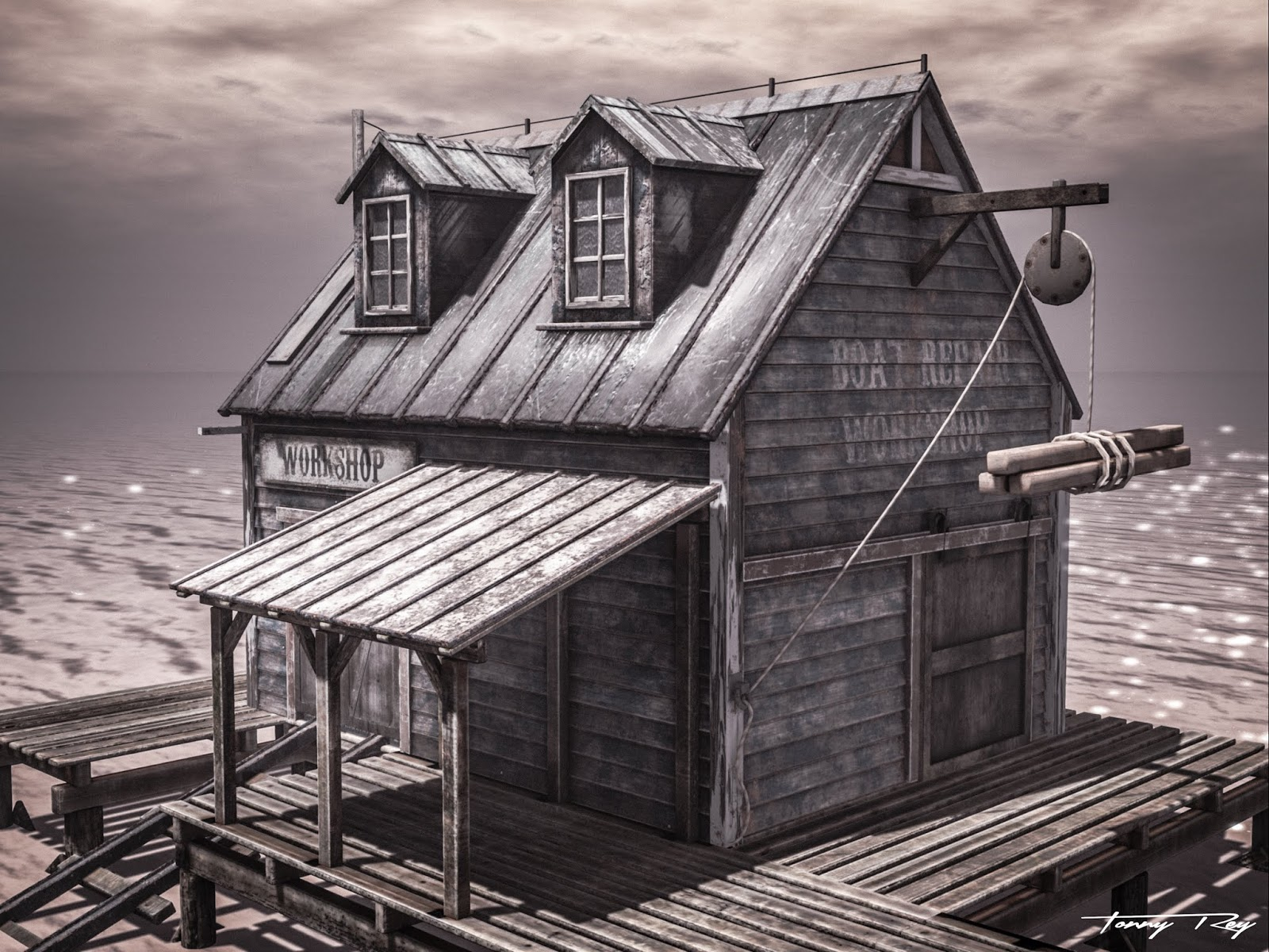 NTD - The Old Boat Workshop