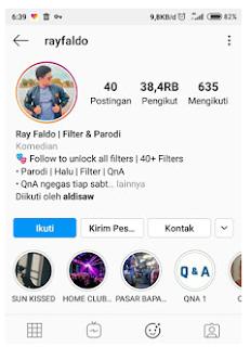 Filter medan gibberish instagram, filter head quiz yang sedang virall