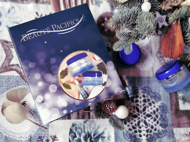Vianočný box produktov rady Paradoxe Beauté Pacifique