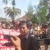 Warga Demo Tuntut Pertanggungjawaban Dinas PU Bina Marga Muba