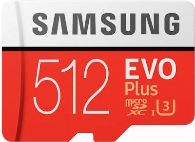 Samsung Evo Plus 512 GB