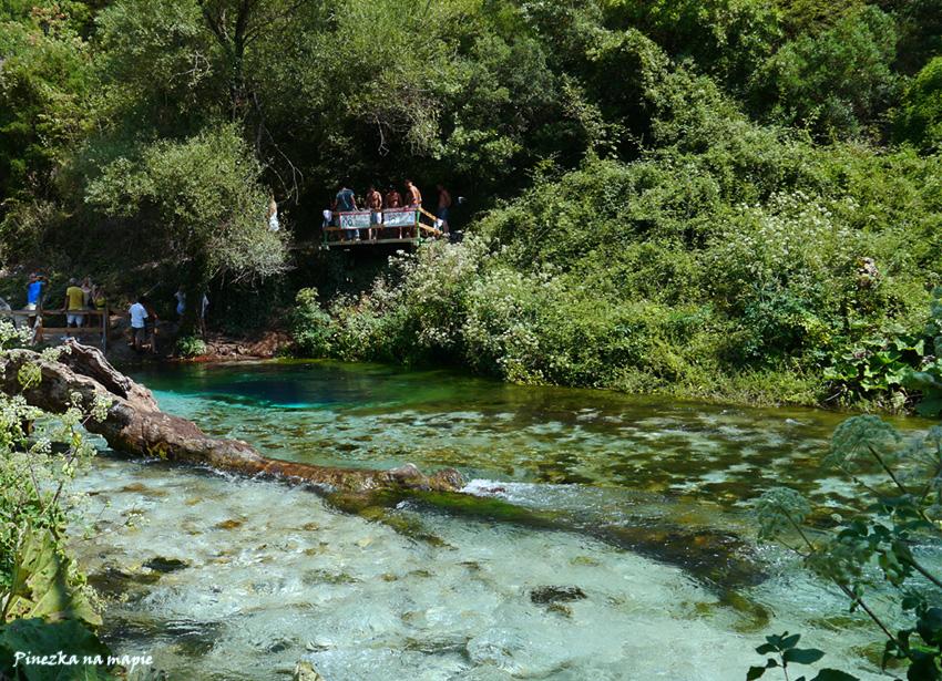 Niebieskie Oko w Albanii
