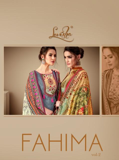 Levisha Fahima vol 2 Pashmina Winter Salawar Kameez wholesaler