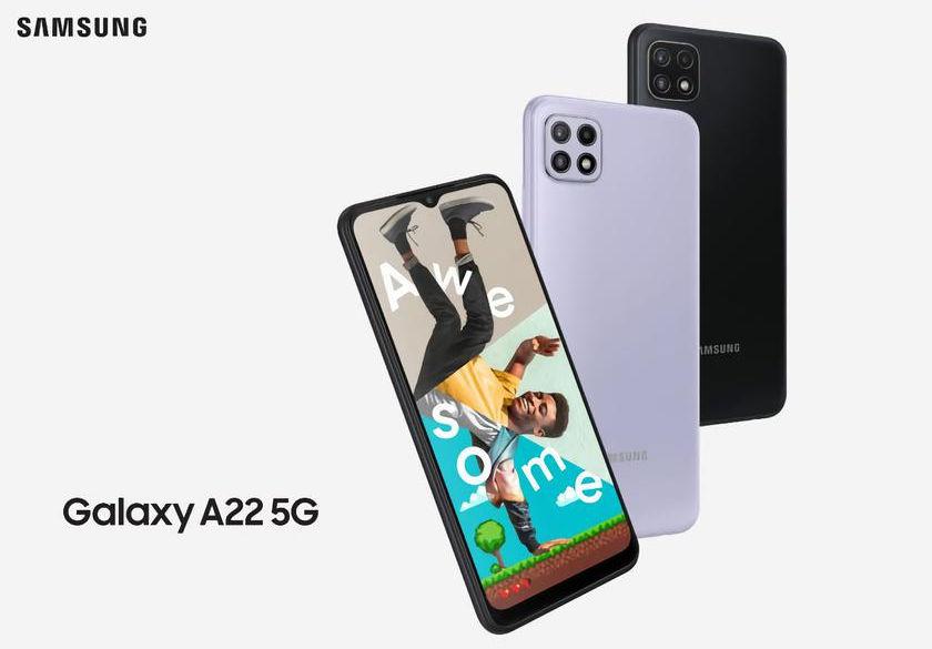 Samsung Galaxy A22 5G Akıllı Telefon
