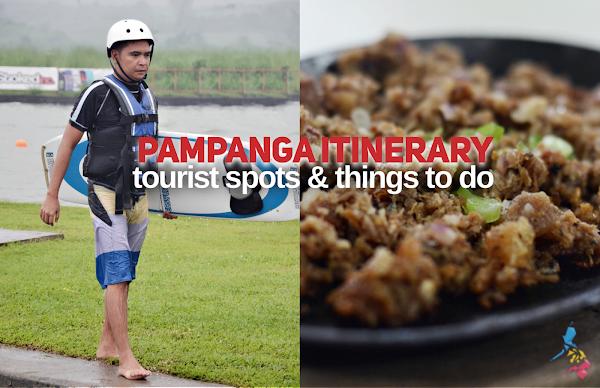 PAMPANGA TOURIST SPOTS ITINERARY THINGS TO DO IN PAMPANGA PLACES TO VISIT