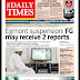 NAIJA NEWSPAPERS: TODAY'S THE DAILY TIMES NEWSPAPER HEADLINES [5TH SEPTEMBER, 2017].