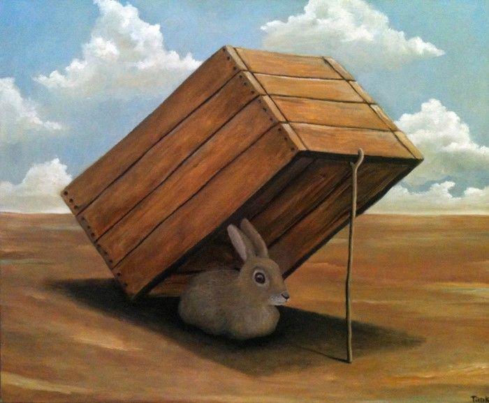 Современный австралийский художник. Tank Art