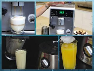 robot de bucatarie Philips si cafetiera Saeco