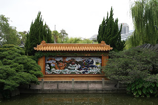 Chinese Garden of Friendship Darling Harbour. Photography by Rachel Hancock @retrogoddesses