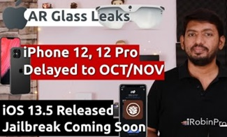 iPhone 12, 12 Pro Delayed,  AR Glass, iOS 13.5 Jailbreak மற்றும் iPadPro, HomePod on Sale (தமிழில்)
