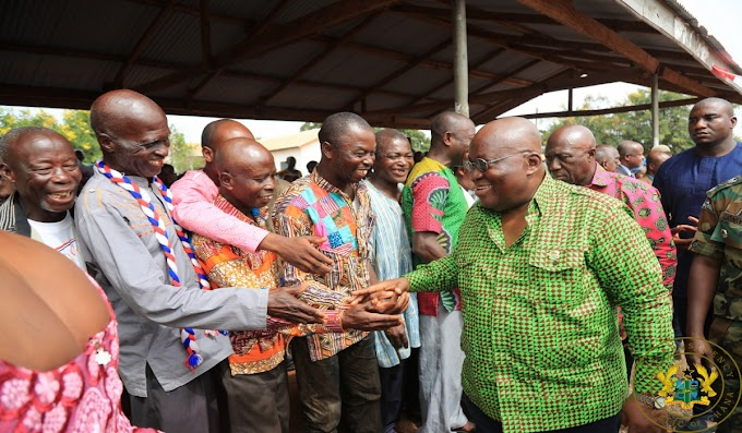 """""""I Am Fulfilling My Campaign Promises"""" – President Akufo-Addo"""