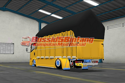 Mod Bussid Truck Margo joyo terpal segitiga