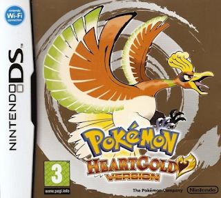 pokemon heart gold rom 3DS CIA