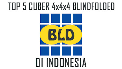 PemaiTop 5 Cuber Indonesia yang mampu menyelesaikan rubik 4x4 dengan mata tertutup