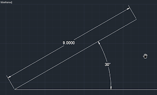 line with the angular conditions