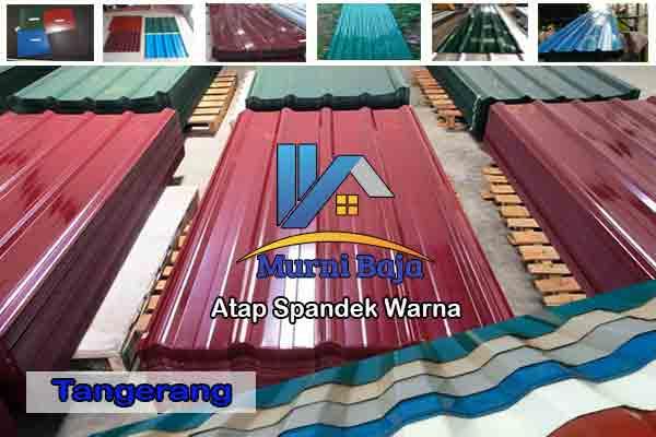 Harga Atap Spandek Warna Tangerang Per Meter Terbaru 2020