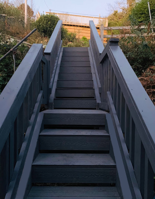 composite decking staircase