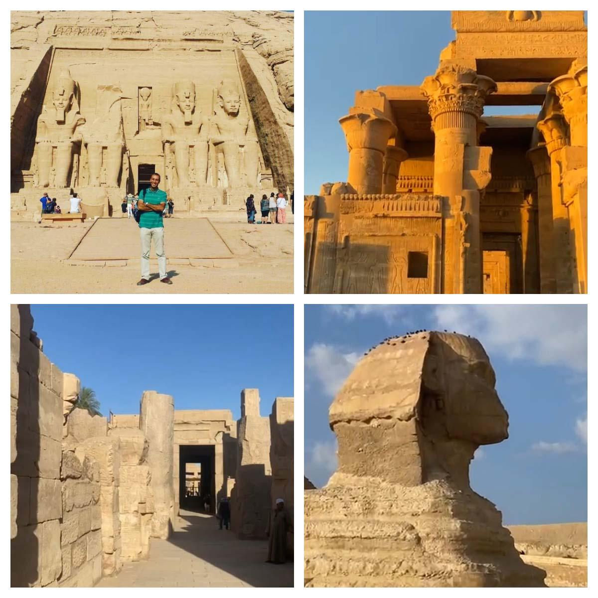 Guia de turismo em português no Egito