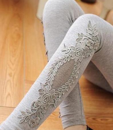 jak ozdobić legginsy