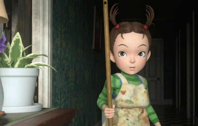 """Kadr z filmu """"Aya to majo"""" ©2020 NHK, NEP, Studio Ghibli"""