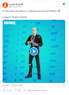 "Skin meme ""Stonks"" comes to Fortnite,  see here !!!"