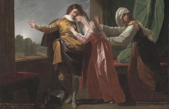 Benjamin West Ромео и Джульетта