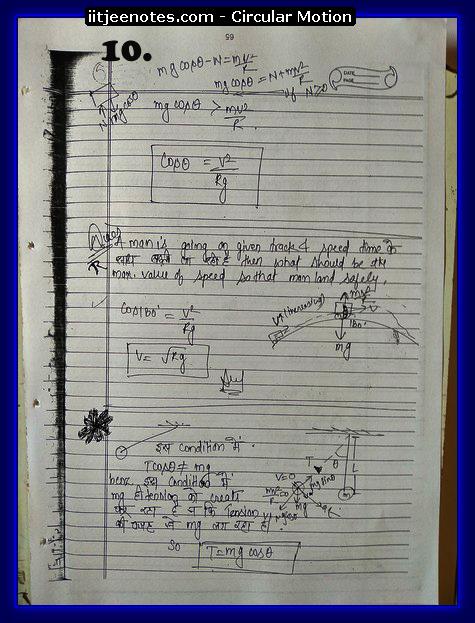 Circular Motion Notes