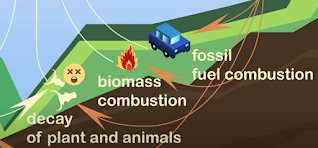 decomposition and combustion