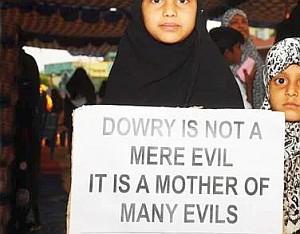 dowry an ulcer an evil