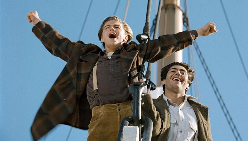Кадр із фільму «Титанік» (1997)