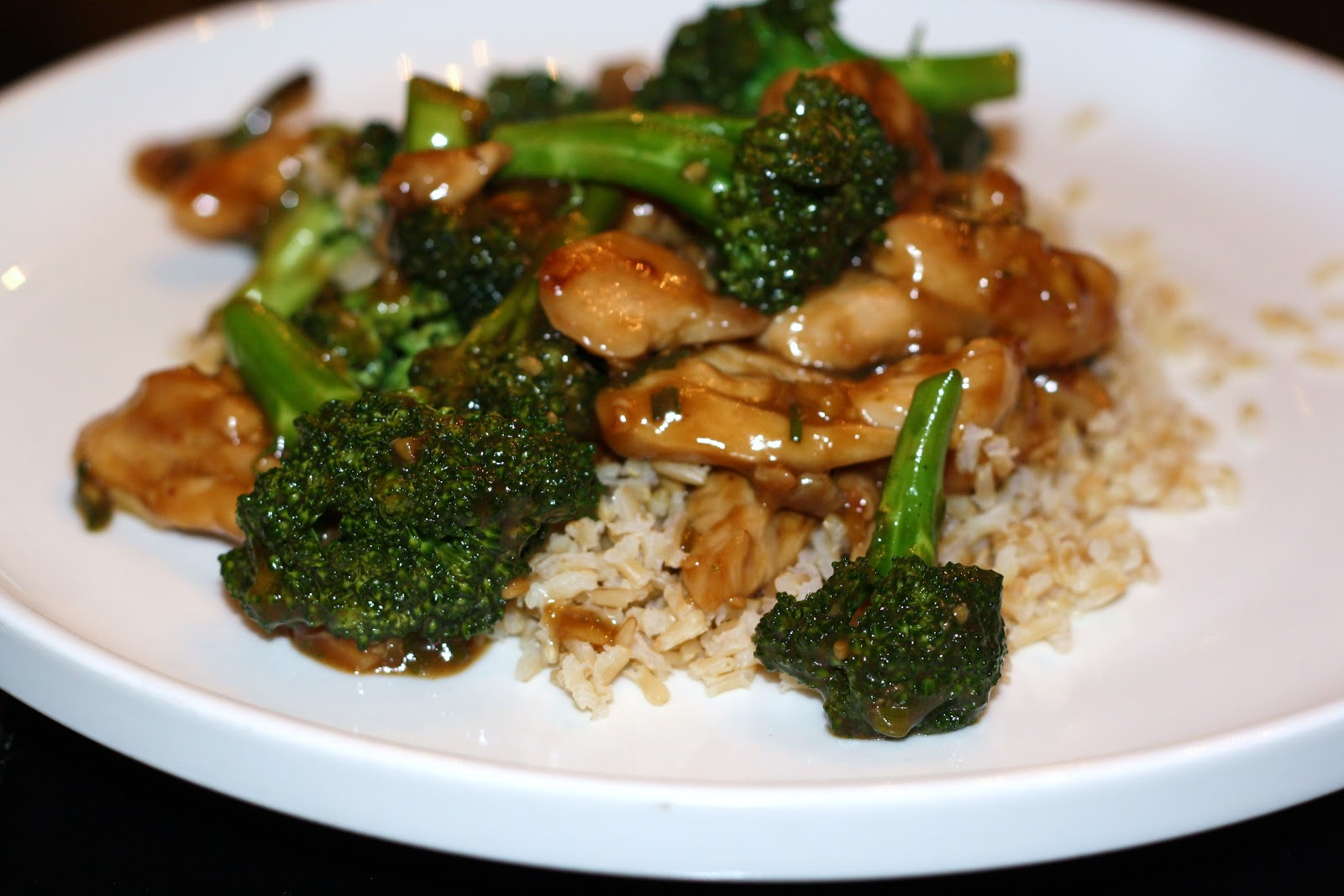 Chicken Broccoli Ginger Stir Fry