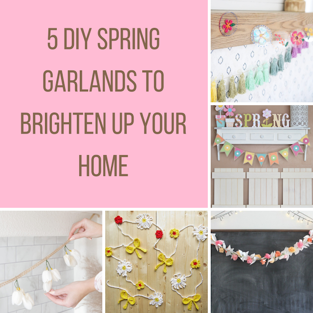 5 DIY Spring Garlands to Brighten Up Your Home
