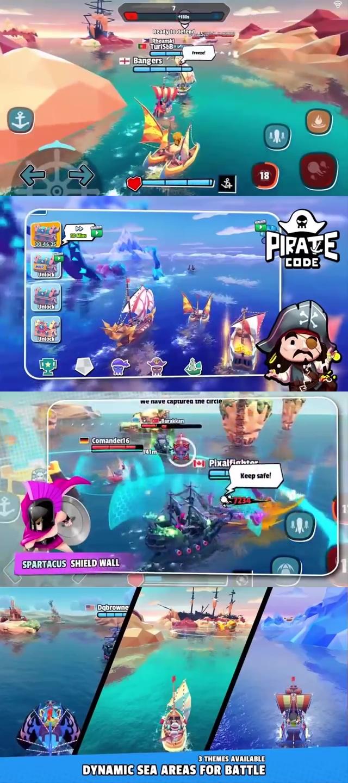 Pirate Code - PVP Battle at sea ,เกม, เกมส์, เกมมือถือ 2019, เกมมือถือ, เกมออนไลน์มือถือ, เกมออนไลน์, เกม ทํา อาหาร, เกม รถ แข่ง, เกม ต่อสู้, เกมส์ จับ คู่, เกม ฟรี, เกม ออนไลน์ ใหม่, เกม