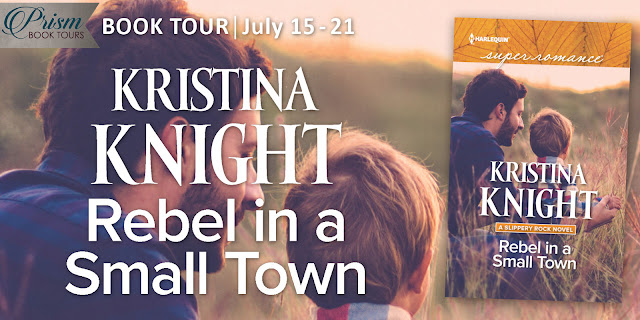 It's the Grand Finale for REBEL IN A SMALL TOWN by KRISTINA KNIGHT!