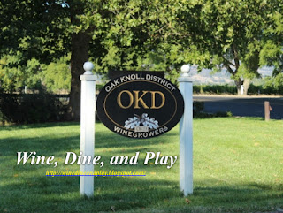 The Oak Knoll District of Napa produces some of the best cabernets and other wines in Napa Valley.