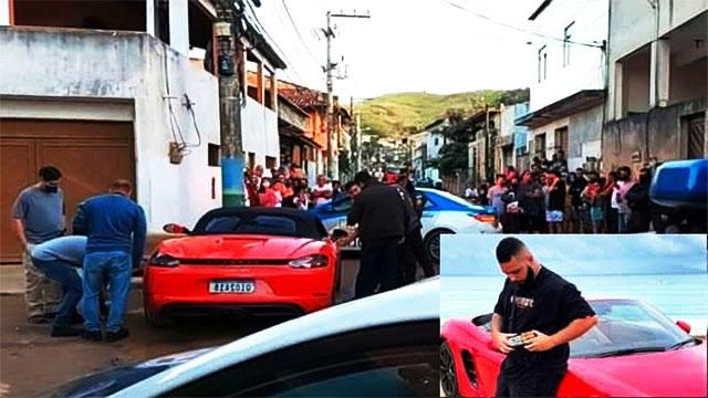 """عصابة برازيلية """" تنتقم """" من المتفاخرين بثرواتهم على مواقع التواصل"""