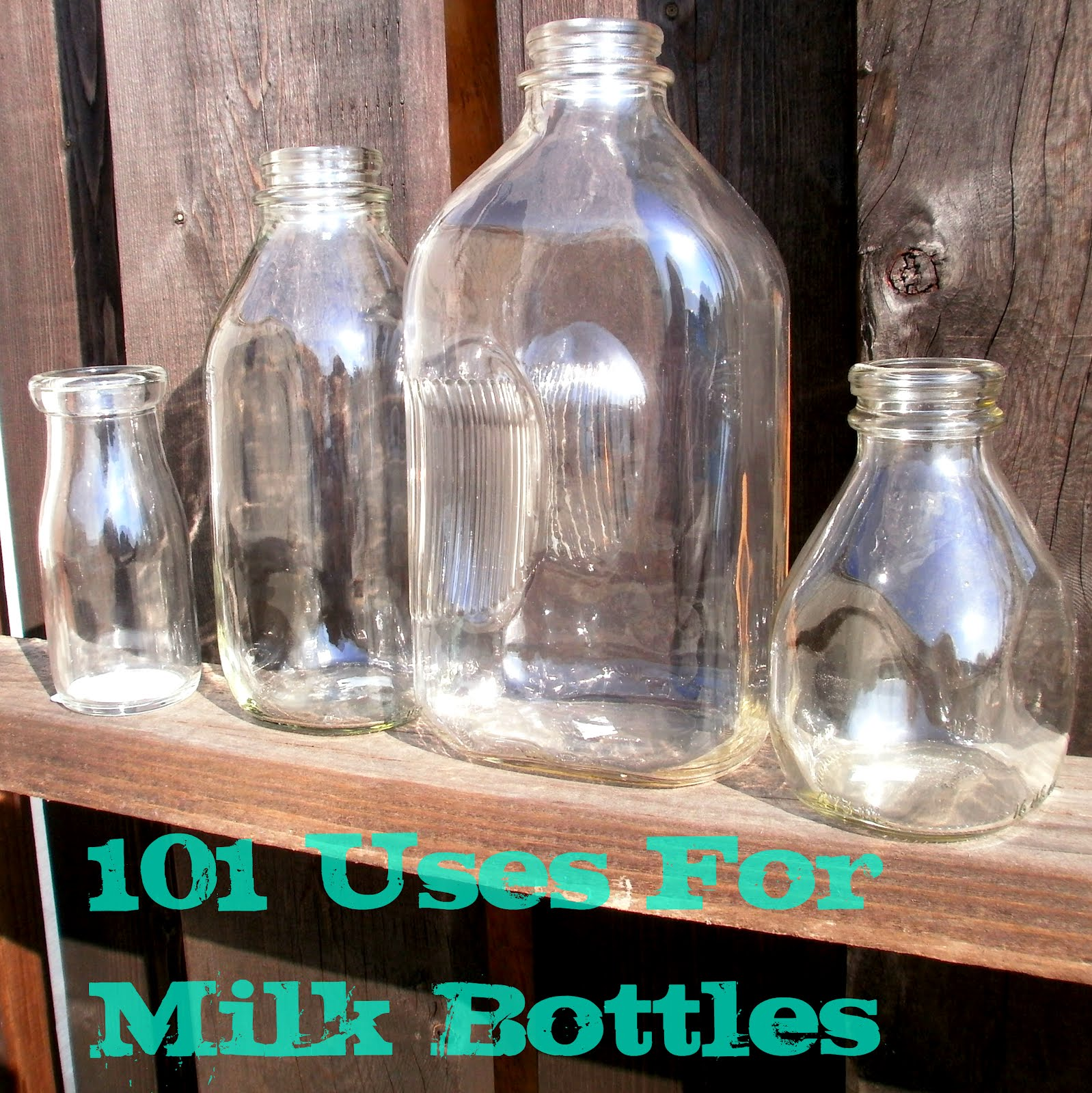 Red Hill General Store 101 Glass Milk Bottle Uses