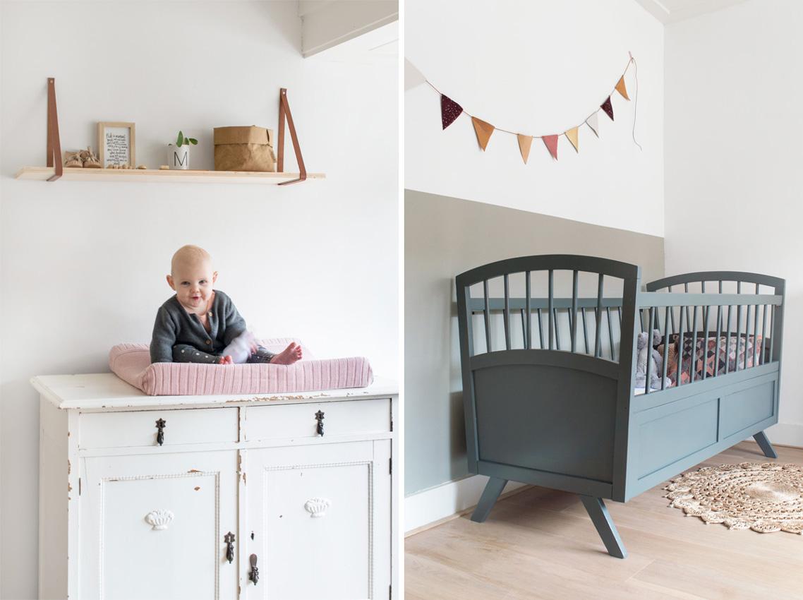 decoración dormitorio nórdico bebé