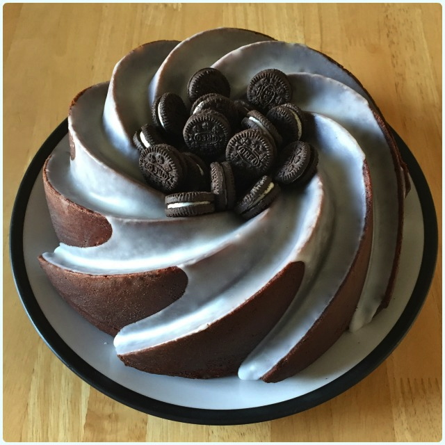 Oreo Bundt Cake